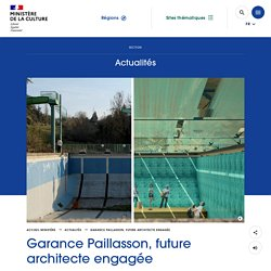 Garance Paillasson, future architecte engagée