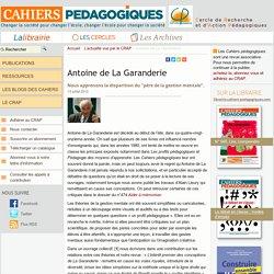 Antoine de La Garanderie