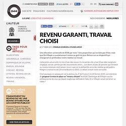 Revenu garanti, travail choisi » Article » OWNI, Digital Journalism