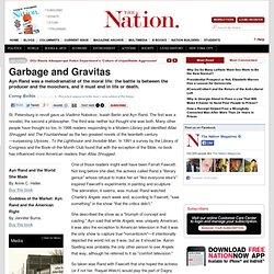 Garbage and Gravitas