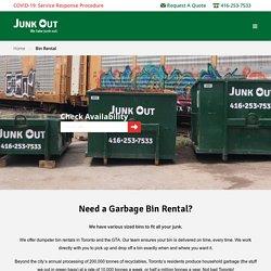 Get Affordable Garbage & Waste Bin Rental Services