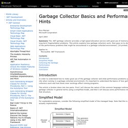 Garbage Collector Basics and Performance Hints