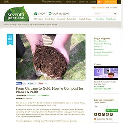 Seventh Generation's Guide to Composting