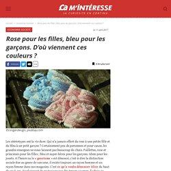 Rose pour les filles, bleu pour les garçons. D'où viennent ces couleurs
