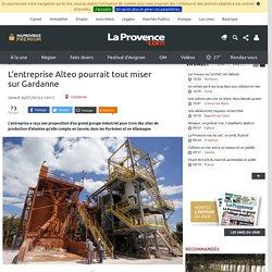L'entreprise Alteo pourrait tout miser sur Gardanne