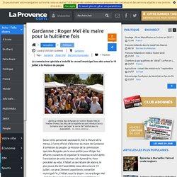 Gardanne : Roger Meï élu maire pour la huitième fois