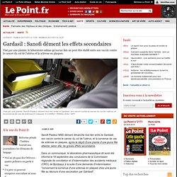 Gardasil : Sanofi dément les effets secondaires