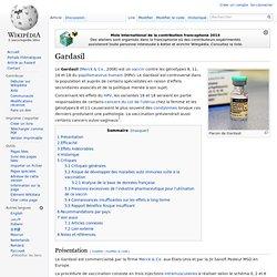 2006, MERCK, marché USA - 2007, Sanofi Pasteur, marché UE