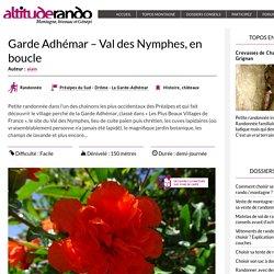 Garde Adhémar – Val des Nymphes, en boucle