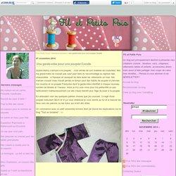 Une garde-robe pour une poupée Corolle - Fil et Petits Pois
