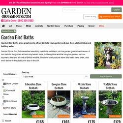Garden Bird Baths