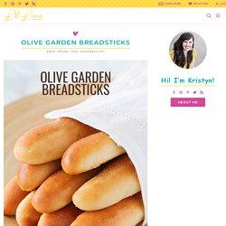Olive Garden Breadsticks Recipe (+VIDEO)