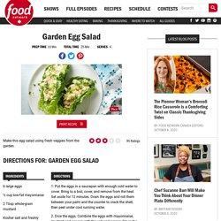 Garden Egg Salad Recipes