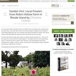 Garden Visit: Local Flowers from Robin Hollow Farm in Rhode Island: Gardenista