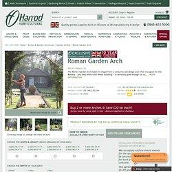 Roman Garden Arch - Harrod Horticultural (UK)