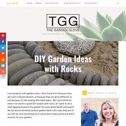 DIY Garden Ideas with Rocks