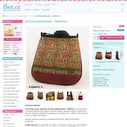 AUTUM GARDEN BAG - PARROT® / Zboží prodejce PARROT