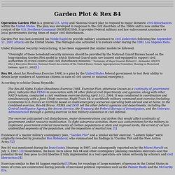 Garden Plot & Rex 84