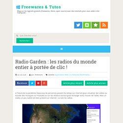 les radios du monde entier à portée de clic !