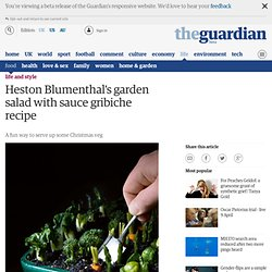 Garden salad with sauce gribiche recipe | Life and style | guardian.co.uk
