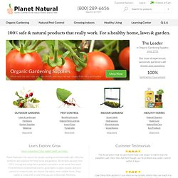 Garden Supply - Planet Natural