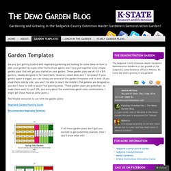 The Demo Garden Blog