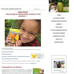 GardenABCs: The School Garden Share Site