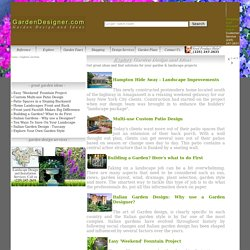 Explore GardenDesigner.com - Ideas for your garden landscape improvements