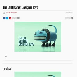 yhwh - The 50 Greatest Designer Toys
