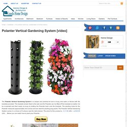 Polanter Vertical Gardening System