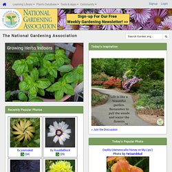 Gardening Resources :: National Gardening Association