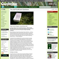 Gardening Australia - The Self-Sufficient Gardener