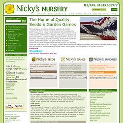Nickys Garden shop - gardening equipment and garden supplies