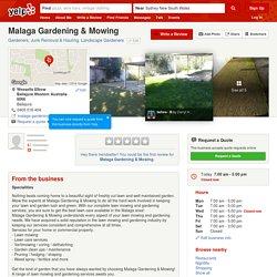 Malaga Gardening & Mowing