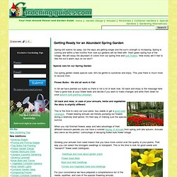 Gardening Guides Your Year Around Gardening Help and Resource