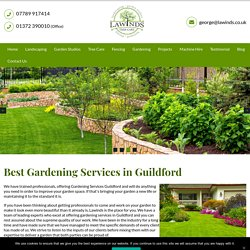 Gardening Services Guildford