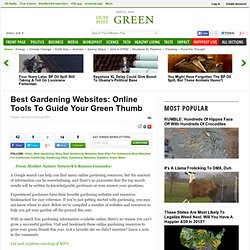 Best Gardening Websites: Online Tools To Guide Your Green Thumb