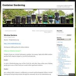 Container Jardinage