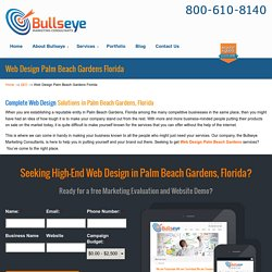 Web Design Palm Beach Gardens: Helping Companies Grow