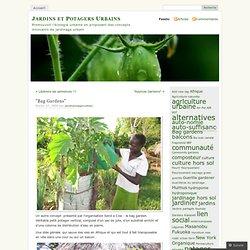 «Bag Gardens « «Jardins et Potagers Urbains