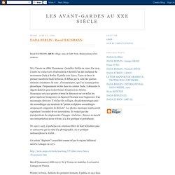 DADA-BERLIN : Raoul HAUSMANN