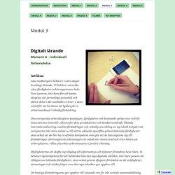 Modul 3 - Gärdesskolan - Utvecklande arbetssätt