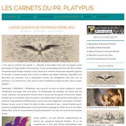 L'Ange gardien (Les Carnets du Pr. Platypus)