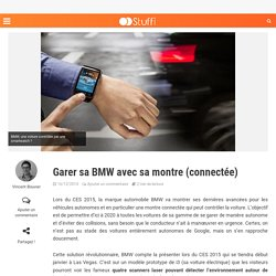 Garer sa BMW depuis sa montre connectée