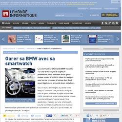 Garer sa BMW avec sa smartwatch