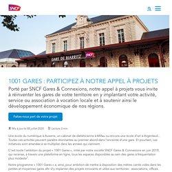 1001 Gares : participez à notre appel à projets