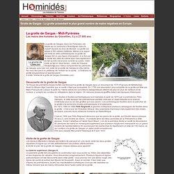 Gargas - grotte - visite - images