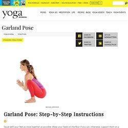 Garland Pose
