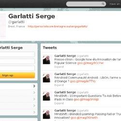 Garlatti Serge (garlatti) on Twitter