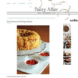 The Pastry Affair - Home - Garlic Parmesan Pull-Apart&Bread